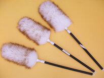 优质澳洲羊毛清洁掸家用客厅鸡毛掸加工定制图片2