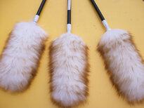 优质澳洲羊毛清洁掸家用客厅鸡毛掸加工定制图片0
