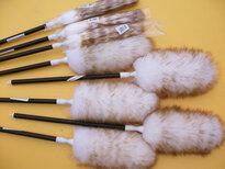 优质澳洲羊毛清洁掸家用客厅鸡毛掸加工定制图片5