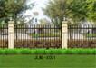 锌钢围栏宏洲锦龙厂家直销60方管冲30竖杆牢固又美观