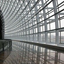 深圳玻璃幕墙安装外墙瓷片空鼓找华源具有良好口碑图片