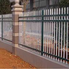 厂家生产别墅小区防护隔离锌钢护栏批发厂区庭院围墙防护锌钢护栏