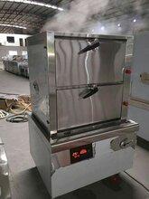 商用电磁炉--三门海鲜蒸柜