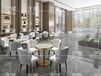 金属靠背皮椅子咖啡厅酒店餐厅休闲桌椅