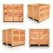 濟南銘杰木質包裝箱廠家濟南鋼邊箱設備外包裝箱圍板箱濟南框架木箱