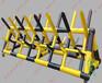 上海1.2米高交通移动挡车滑轮拒马厂家