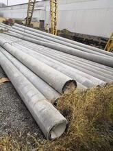 天津東麗15米水泥電桿廠家圖片