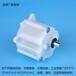 樓頂扇專用風扇搖頭器樓頂扇塑料齒輪箱0.8模數精密尾牙箱