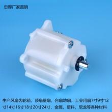 楼顶扇专用风扇摇头器楼顶扇塑料齿轮箱0.8模数精密尾牙箱图片