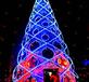 山東圣誕活動大型led圣誕樹制作