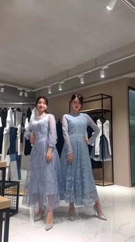 欧源19新款连衣裙品牌剪标女装进货渠道汇多多带你走进广州石井尾货市场