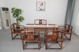 新中式胡桃木实木茶桌椅组合功夫茶几茶台禅意茶室