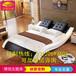 簡約現代雙人床情趣主題酒店床電動合歡助力床水床廠家直銷