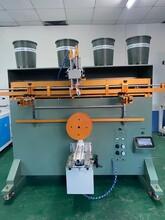 貴港市加侖花盆絲印機廠家塑料桶滾印機包裝桶絲網印刷機直銷圖片