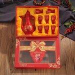 婚庆礼品陶瓷餐具定制,景德镇陶瓷套装礼品定做厂家