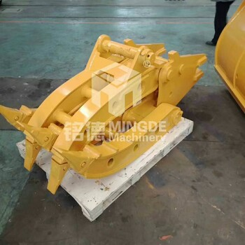 液压旋转抓木器原木夹斗机械夹木器液压夹具原木抓具