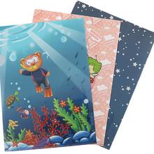 商家直銷動漫卡通a4兩頁夾pp彩印檔案文件套L型單頁文件夾可批發圖片