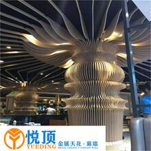 广东木纹铝方通吊顶生产厂家图片