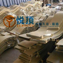 珠海弧形铝方通供应生产厂家图片