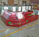 紹興廠家生產煙玻璃展柜酒柜紅酒高柜超市煙酒組合展架茶葉陳列柜