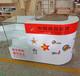 吉林銷售體彩收銀柜臺福彩服務銷售展示柜頂呱呱玻璃展柜