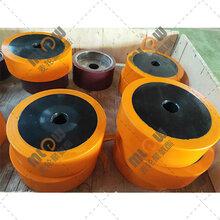 蘇州硬度高聚氨酯膠輪鐵芯包膠輪圖片
