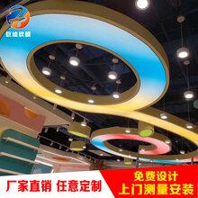 南京巨繪軟膜天花浴室游泳池軟膜燈箱吊頂白色透光膜發光膜燈膜商場辦公室酒店圖片