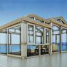 别墅阳光房设计露台阳光房免费设计效果图_玻璃房