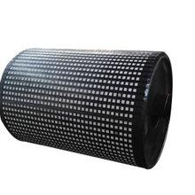 供应滚筒包胶定制各种规格型号滚筒陶瓷包胶图片