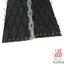 超耐用DB-WK1压条式瓦壳包胶厂价出售瓦壳式胶板稳定实用图片