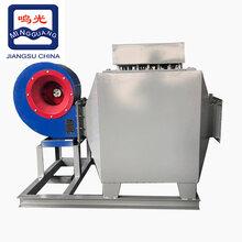 厂家定制防爆风道式翅片电加热器风管混合电加热器风管式工业加热器