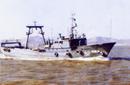 威海白云定制生产37米拖网渔船VBY804型艉滑道拖网渔船图片