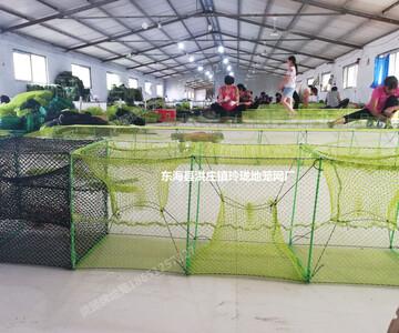 东海县洪庄镇玲珑地笼网厂