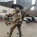 汕尾八路軍人物雕像廠家直銷