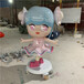 惠州吉祥物卡通雕塑生产厂家