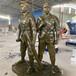 恒創雕塑農耕人物雕塑,茂名戶外農耕園林景觀雕塑定制廠家