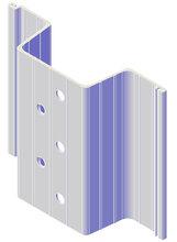 广东汇洋实业塑钢板桩高分子塑料板桩玻璃钢板桩FRP板桩PVC板桩图片