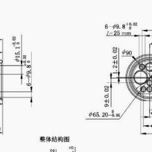 GBT34657.1直流充電車輛插座量規,直流充電車輛接口量規圖片
