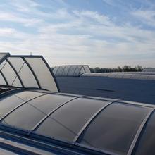 天津屋顶排烟天窗生产厂家图片