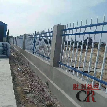 鋅鋼護欄供應鋅鋼護欄規格安平財潤鋅鋼護欄廠批發