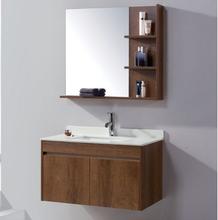 佛山多层实木免漆板浴室柜厂家图片
