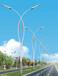 信号灯、交通指示牌、太阳能路灯杆