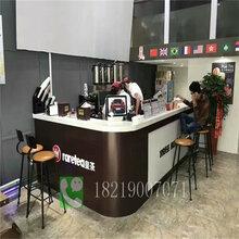 網紅奶茶吧臺吊架崇左大新廠家直銷圖片