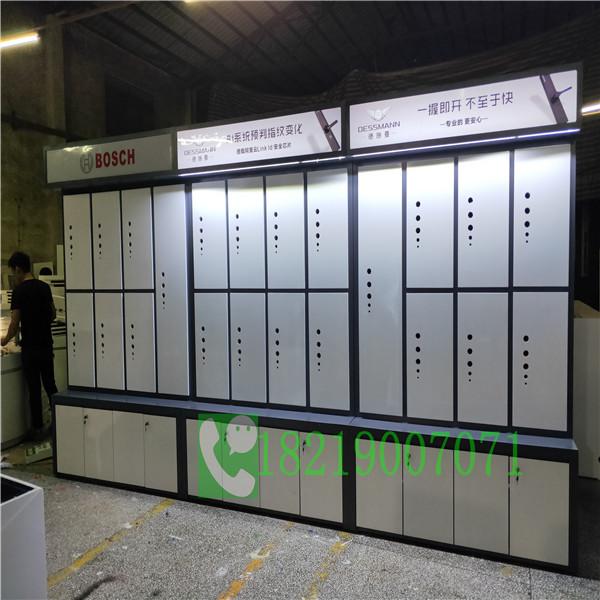 智能锁具展示柜台百色优点厂家单价