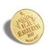 上海牢固金屬徽章定制廠家直銷,鍍金胸章