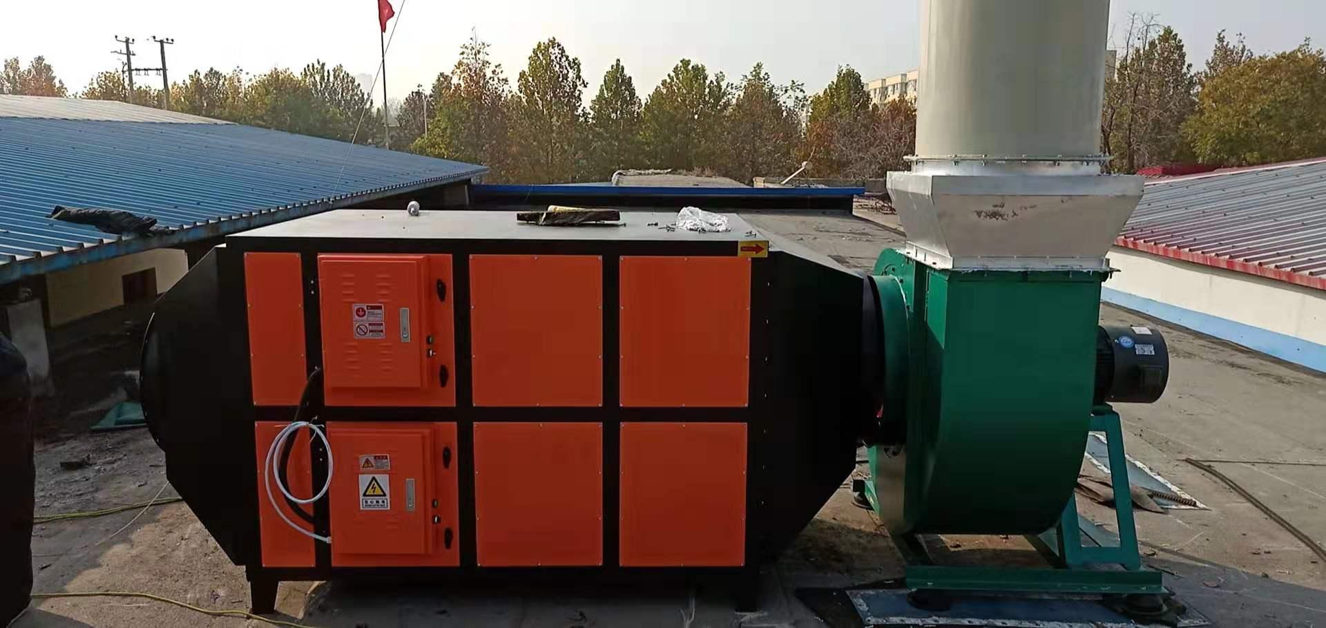 催化燃烧废气净化排放达标环保设备