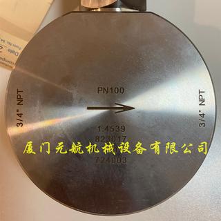 Badger伺服电机控制阀3/4寸/1.4539采购图片5