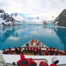 如何穿越南极海峡之南极邮轮玩法南极旅游预订南极旅游攻略图片