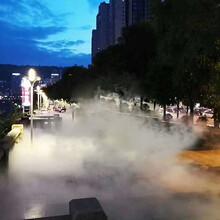 剧场舞台雨雾模拟,舞台雾效打造,自动化雾景雨帘图片