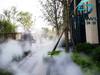 贵州售楼部雾喷造景设备,定义园林新生活